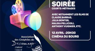Soirée Courts métrages le 12 avril au Cinéma du Bourg
