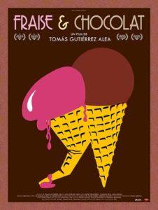 Affiche film Fraise et chocolat